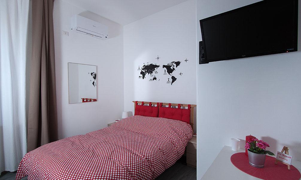 Camera matrimoniale con bagno in comune bed and breakfast roma